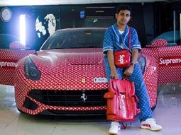Fifteen-year-old Dubai boy owns Ferrari F12 Berlinetta