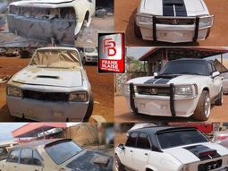 Incredible transformation of abandoned Peugeot 504