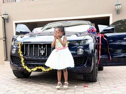 Famous Pastor gave 4-year-old daughter new Maserati as birthday gift