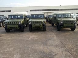 Nigerian Army purchased Innoson armoured fighting vehicles