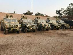 Nigerian Army has finally started taking delivery Innoson vehicles