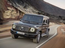 Mercedes-Benz reveals the all-new Mercedes G550 G-Wagon 2019