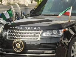 The beast of Governor Wike - Range Rover Vogue