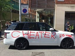 The way women damage their cheating boyfriends' cars