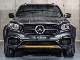 Mercedes-Benz X-Class EXY pickup truck with fantastic Carlex Design tuning