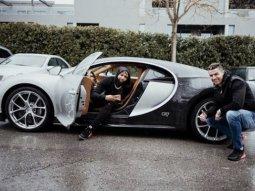 Odell Beckham Junior test-drives Cristiano Ronaldo's N972m Bugatti Chiron