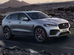 Jaguar reveals its fastest SUV - F-Pace SVR