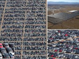 [Photos] Volkswagen cars worth millions of euros dumped in American desert