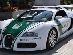 Dubai's police cars: New German Bugatti Veyron joins the fleet