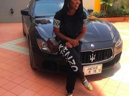 Check out Jackie Appiah's N17 million Maserati Ghibli
