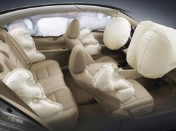 Potential dangers from old-fashioned car airbag system