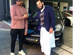 Davido's producer Kiddominant spends N45 Million on his new Porsche Panamera