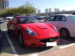 20+ photos of stunning luxury cars inside a university campus in Dubai
