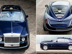 This $13 million special-made Rolls Royce Sweptail is the most expensive car in the world