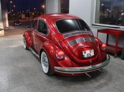 Embellished Volkswagen Beetle that definitely floors you