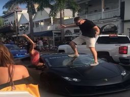 Man deliberately broke his N128m Lamborghini Huracan' windshield at Autopride event