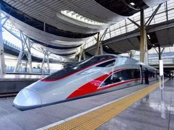 See the comfy facilities inside a Chinese overnight bullet train