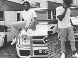 Runtown's impressive net worth, extravagant houses and cars