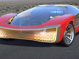 If Iron Man has an autonomous supercar, it would look like this