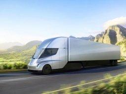 Meet the futuristic truck from Tesla - the Semi