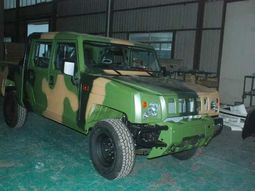 Innoson Motors builds armoured vehicles for Army Warrant Officers