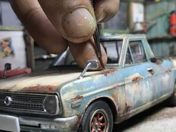 [Photos] Amazingly realistic car miniatures by Malaysian artist Eddie Putera