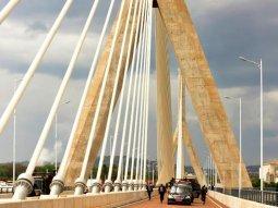 Uganda opens Africa's fifth longest suspension bridge