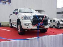 Innoson reveals the IVM Granite - Latest made-in-Nigeria pickup truck