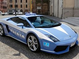 Countries with the most costly police cars
