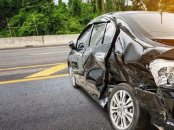 2 car accident victims survive intact after the SUV somersaulted several times