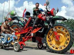 39 weirdest motocycles you can find on earth
