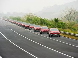 Parade of 55 Chinese autonomous SUVs sets Guinness record