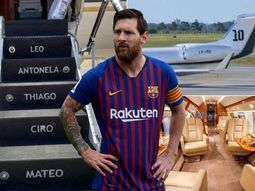 What's special about the new private jet of Lionel Messi?