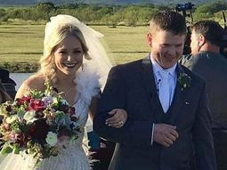 Newlyweds killed in a helicopter crash hours after wedding in Texas
