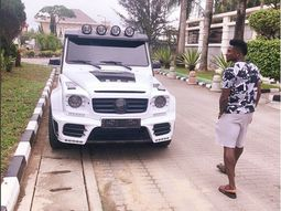 [Obafemi Martins' cars] – Life of speed both on and off pitch