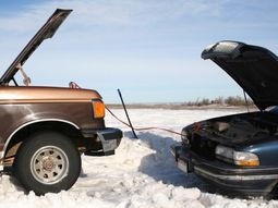 [VIDEO] How to borrow energy from another car's battery