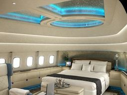 [VIDEO] The world's most luxury aircraft with 5-star bedroom, cinema & bar!