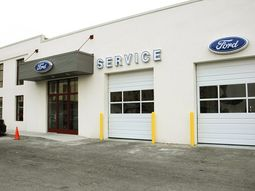 Ford service center in Lagos