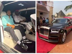 Billionaire Prince Arthur Eze buys ₦165m 2019 Rolls-Royce Phantom