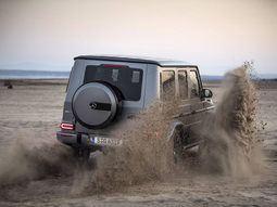 How to drive the 2019 Mercedes-Benz G-Wagon through the mud