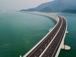 Take a look at the longest sea bridge in the world in China!