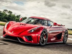 Koenigsegg Regera 5.0L twinturbo V8 engine produces 1500 hp, just released!