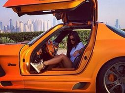 Watch the lavish cars of Dubai rich kids