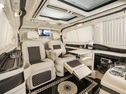 Check out the VIP ₦155m KLASSEN Mercedes-Benz Viano Limousine luxury office