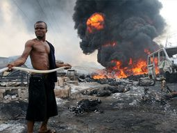 Abule-Egba pipeline explosion claims over 100 houses & 77 cars