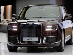 How Vladimir Putin's Aurus Limo was made from drawings to a complete bunker on wheels