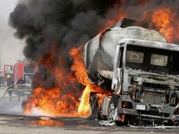 [Shocking] Recent tanker explosion in Edo burnt 13 cars