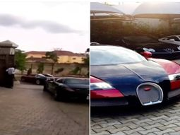 Unbelievable!!! ₦620million ($1.7million) Bugatti Veyron EB 16.4 spotted live in Abuja Nigeria