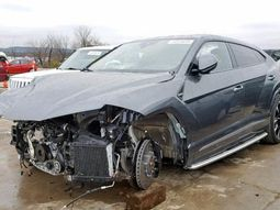 Do you think it's insane to buy this partially crashed Lamborghini Urus 2019 for a ₦39.6m?