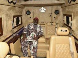 "Dino Melaye: ""Campaign made easy"" inside his Mercedes Sprinter VIP"